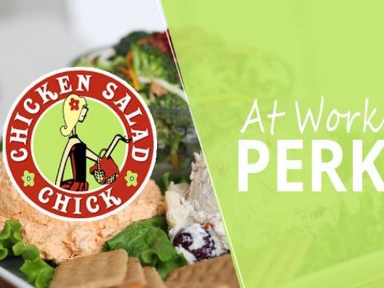Chicken Salad Chick At Work Perk
