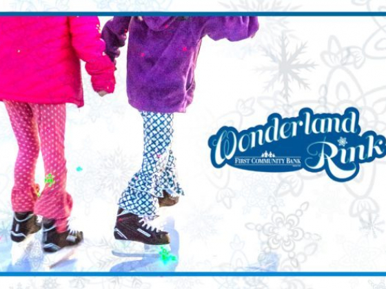 First Community Bank Wonderland Rink giving away skating party