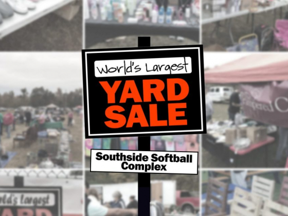 Register your booth for World's Largest Yard Sale – Spring 2020